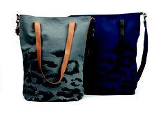 V-Faded Leopard Bag