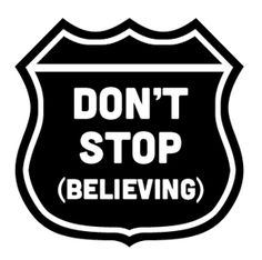 Miracles Momma Designs: Free SVG Word Art (Don't Stop Believing)