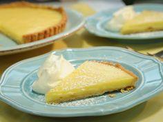 Geoffrey's Lemon Tart recipe from Geoffrey Zakarian via Food Network