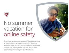 No summer vacation for online safety.  59% of teens and tweens are engaging in online strangers!  1 in 12 are actually meeting them in real life!