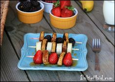 French Toast Kebabs!