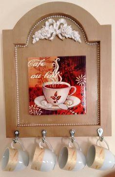 Quadro Decorativo para Café