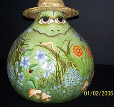 Painted Gourds Ideas - Bing Images