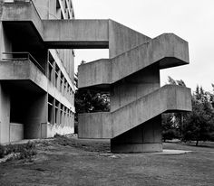 Brutalist Architecture - stair