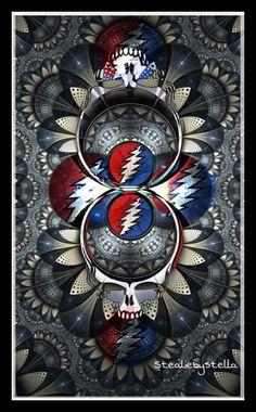 Grateful Dead S Classic 13 Point Lightning Bolt
