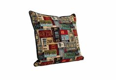 Number Plates #cushion #trend #accessories