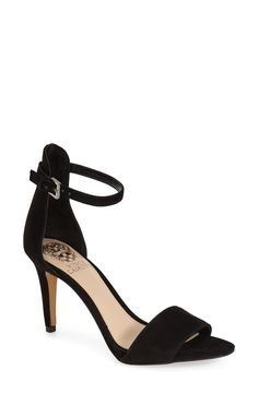 Vince Camuto 'Court' Ankle Strap Sandal (Women) - LOVE this shoe! Super comfy and gorgeous. Have it in 3 colors ☺️☺️☺️