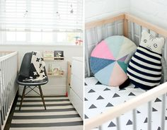 Erin Michael - how to make your $99 IKEA Cot look like a Million bucks - paint slats gray