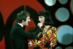 From the Sonny and Cher Comedy hour!