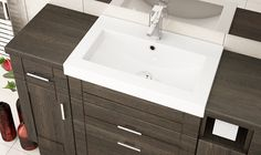 Mali Oak Fitted Bathroom Furniture - Mali Oak is a warm and inviting finish which is sure to add a luxurious feel to your bathroom! Fitted Bathroom Furniture, Modern Furniture, Home Furniture, British Home, Furniture Manufacturers, Buildings, House Ideas, Warm, Luxury