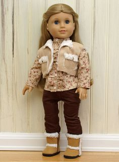 American Girl Doll Clothes-Casual Chic Fall/Winter Collection by The Vintage Doll Trunk