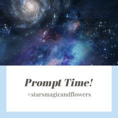 Hey everyone!! @september.stardust & I wanted to create something fun and full of magic for this brand new year & decade!  So, we put together a little list of prompts full of stars and flowers! We would love to see what you come up with and will be sharing all of the pieces in our stories! We can't wait to read all of your magical pieces!  Click on the post to head to my Instagram, use the tags so I can read your work and share it!!  #poetry #writingprompts #poetryprompts #stars #flowers… Poetry Prompts, Writing Prompts, D Flowers, September, Magic, Stars, Create, Fun, Instagram