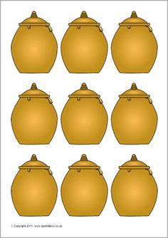Pupil self-registration bees and honey pots (SB3938) - SparkleBox