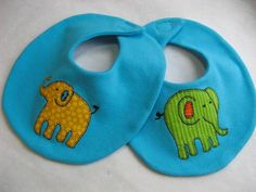 Elephant Walk Bib and Bur Cloth sewing pattern $2.00 on Craftsy at http://www.craftsy.com/pattern/sewing/other/elephant-walk-bib-and-burp-cloth/49218