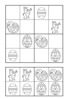 Easter Activities, Preschool Activities, Spring School, Numeracy, Kindergarten Math, Teaching Tips, Worksheets, Learning, Asd