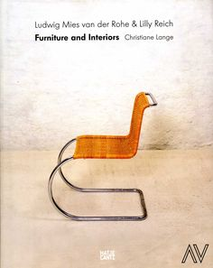 Ludwig Mies van Der Rohe & Lilly Reich furniture and interiors