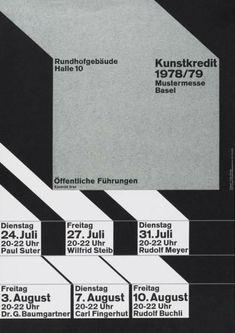 Kunstkredit — Wolfgang Weingart (1978)