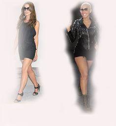 black jumpsuit, Kate Beckinsale VS Amber Rose fashion diva who-wore-it-better celeb celebrity