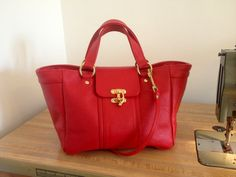 Hey, I found this really awesome Etsy listing at https://www.etsy.com/listing/157710914/new-bailey-bag-red