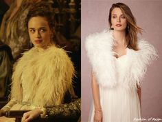 """In the episode 3x12 (""""No Way Out"""") Princess Claude wears this sold out Annabelle NYC via BHLDN Monterey Shawl."""