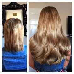 Before and after hair extensions Before After Hair, Great Lengths, Beautiful Long Hair, About Hair, Fall Hair, Girl Hairstyles, Hair Extensions, Hair Beauty, Long Hair Styles