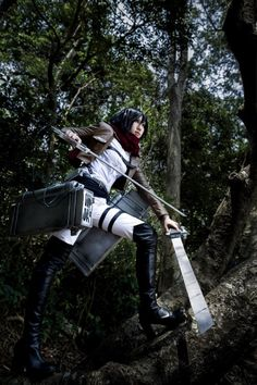 CN:HANA      Mikasa Ackerman @ Attack on Titan (Shingeki no Kyojin)