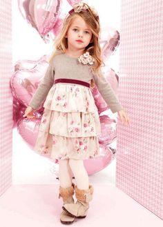 ALALOSHA: VOGUE ENFANTS: MONNALISA BIMBA FW2013 PINK