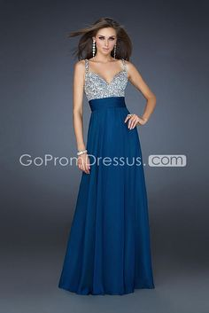 I know it says prom dresses but I simply love this for bridesmaid inspiration. Would be awesome to find with gold on top and burgundy on bottom