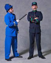 park policeman after color change and park keeper