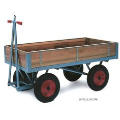 Heavy-duty platform truck with wooden sides, capacity Utility Cart, Utility Trailer, John Deere Garden Tractors, Pull Wagon, Welding Cart, Tool Cart, Dump Trailers, Go Car, Heavy Duty Trucks