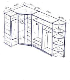 Corner Wardrobe Closet, Wardrobe Room, Wardrobe Design Bedroom, Master Bedroom Closet, Home Decor Shelves, Shelves In Bedroom, Home Decor Kitchen, Wardrobe Organisation, Bedroom Cupboard Designs