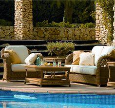 Casablanca Rattan Gartenmöbel bestechen durch Ihre zauberhaft detailverliebte Verarbeitung!