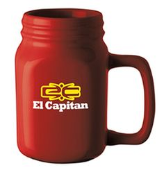 For a fantastic promotion, choose the Mason Jar Ceramic Mug! With a 16 oz. capacity, this dishwasher- and microwave-safe ceramic mug features a high-gloss finish that complements your logo.