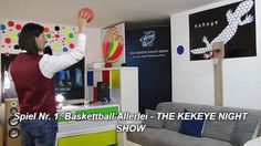 Spiel Nr. 1: Baskettball Allerlei - THE KEKEYE NIGHT SHOW #kekeye #kekeyespiele #kekeyetalente #wien #vienna Night Show, Vienna, Baseball Cards, Games