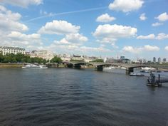 London on a glorious sunny day!
