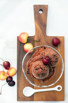 Cherry Chocolate Chip Sorbet