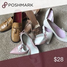 💖Bundled NEW assortment Name Brand size 7.5 shoe 7.5 Assortment of Ralph Lauren, Gianni Bini, Franco Sarto and Via Spiga shoes. There are all brand new and I have bundled them for quick sale. Shoes Heels
