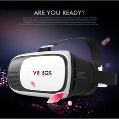 1pcs Hot 2nd Verison VR Virtual Reality 3D Glasses 2.0 version For 3.5 - 6.0 inch Smartphone For iPhone Samsung LG Sony HTC