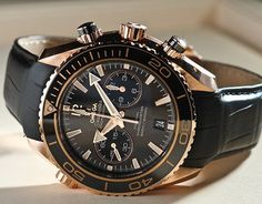 Omega Seamaster Planet Ocean Chrono - in my opinion if you want a rose gold CHronograh pick Rolex w/ ceramic bezel ! it looks amazing on the wrist !