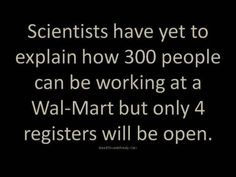 The mysteries of Wal-Mart.