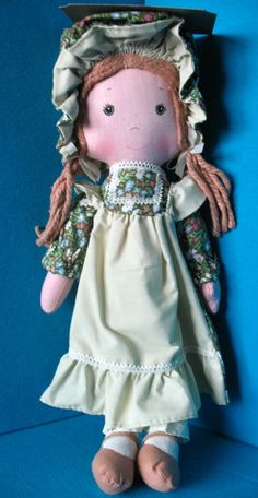 Amy from Holly Hobbie! This is the one I had & she fell apart just a few yrs ago. I have a small version of her still. Love her