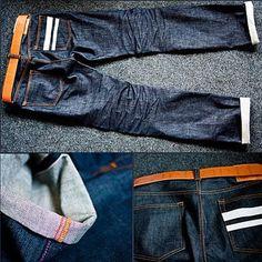 Momotaro #jeans #denim #selvedge #rugged #menswear #pant #workwear