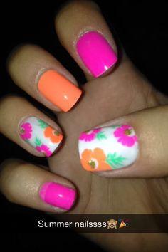 Summer nails! ☀️
