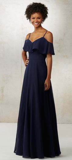Courtesy of Morilee Bridesmaids Dresses; Bridesmaid dress idea.