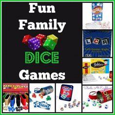 Fun Family Dice Games - StartsAtEight