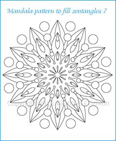 how to create a mandala coloring page. Black Bedroom Furniture Sets. Home Design Ideas