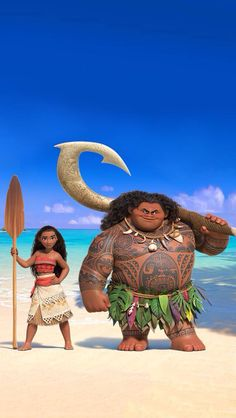 This animation is so GOOD! Moana looks so good!