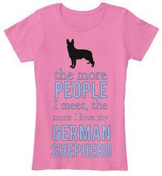 People & German Shepherds