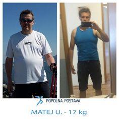 """""""Imaš dve možnosti Miha, izgubi odvečne kilograme ali pa za vedno prenehaj s športom.""""  Sploh ne vemkaj bi naredil, če bi mi to rekel zdravnik. 😟  Točno to je Mateju predpisal zdravnik.  Zato je poskusilz nešteto dietami...  Ampak so se odvečni kilogrami vsakič vrnili. 😖  Bil je že na robu obupa, ko je končno odkril rešitev za svoje težave . 🤔  Poglej kako mu je uspelo:"""