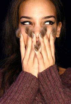 Hairy nails? Wtf? Is that cool?